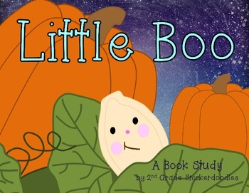 Little Boo by Stephen Wunderli: A Book Study
