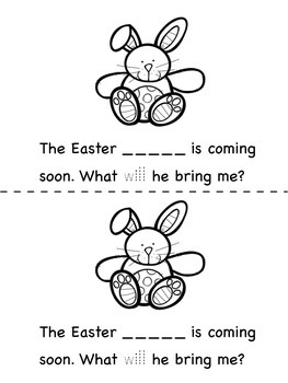 A Little Book for Little Readers and Writers - Easter