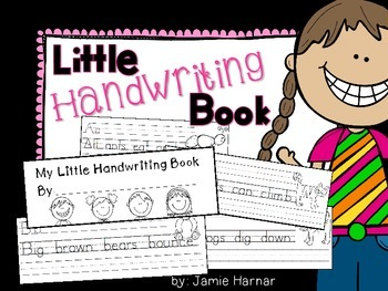 Little Book of Handwriting A to Z