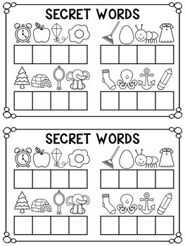 Little Book of Secret Words BUNDLE - Short and Long Vowels