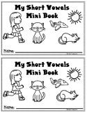 Little Book of Short Vowels:  I Can Read CVC Words