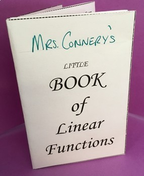 Little Book of Linear Functions