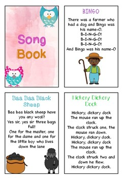Little Book of Songs- 31 Songs Included!