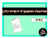 Little Booklet of Quadratic Functions