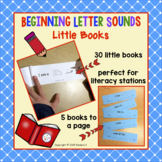 Beginning Letter Sounds Little Books