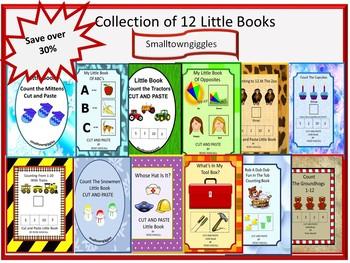 Little Books Early Childhood Special Education  Kindergarten Fine Motor Skills