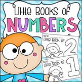 Little Books of Numbers (1-10) - Half Page Booklets Pre-K Kindergarten