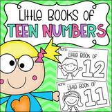 Little Books of Teen Numbers (11-20) - Half Page Booklets Kindergarten