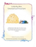 Little Boy Blue Consonant and Vowel Sort
