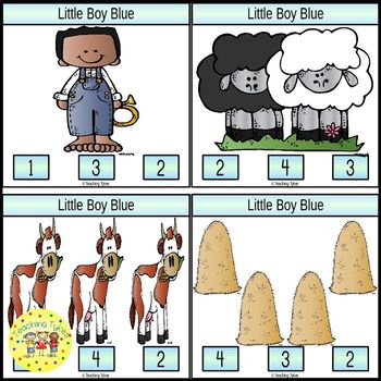 Little Boy Blue Task Cards