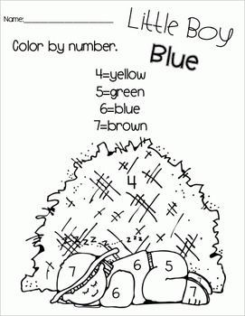 Little Boy Blue - Literacy & Math for Early Learners