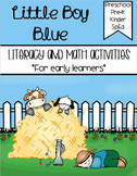 Little Boy Blue - Literacy & Math for Early Learners