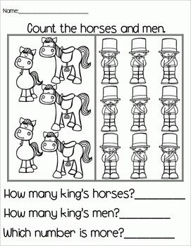 Humpty Dumpty - Literacy & Math for Early Learners