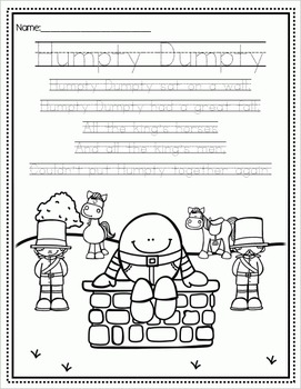Humpty Dumpty - Literacy & Math for Early Learners