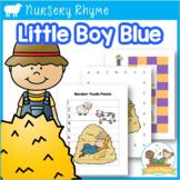 Little Boy Blue Nursery Rhyme Activities