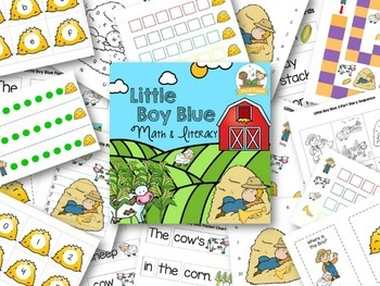 Little Boy Blue Nursery Rhyme Activities
