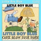 Little Boy Blue Nursery Rhyme Clip Art C. Seslar