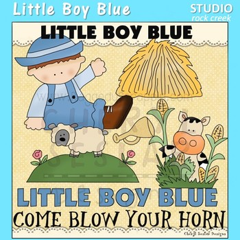 Little Boy Blue Nursery Rhyme Clip Art C. Seslar