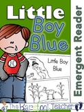 Little Boy Blue Nursery Rhyme Emergent Reader & Class Poster