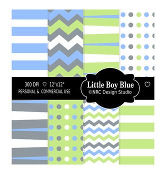 Little Boy Blue Paper Pack
