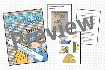 Little Boy Blue Poetry Journal