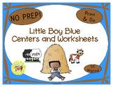 Little Boy Blue Activities