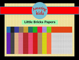 Little Bricks Papers Vol 2 Clip Art - FREE