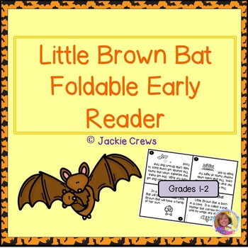 Little Brown Bat Foldable Early Reader