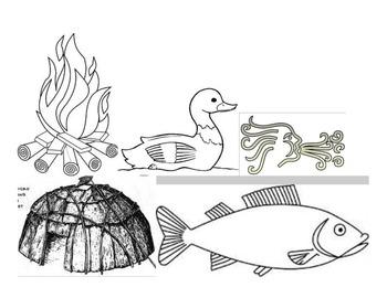 Little Brown Duck Read Aloud & Retelling Activity----A Chippewa Legend