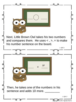 Little Brown Owl's Day At School