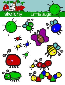 Little Bug Clip Art / Little Insects