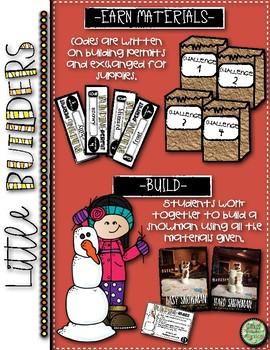 Little Builders Snowman Challenge