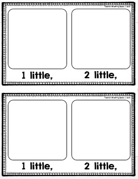 Little Bumblebees --- Interactive Counting Book --- Bumblebee Numbers *FREEBIE*