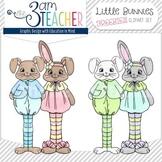 Little Bunny Buddies Clip Art FREEBIE!!!