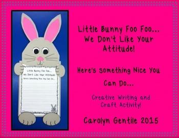 Little Bunny Foo Foo  Creative Writing and Craft Activity