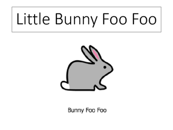 Little Bunny Foo Foo Interactive Story Pieces