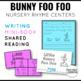 Little Bunny Foo Foo Nursery Rhyme Literacy Tasks