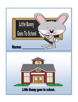 Little Bunny Goes To School & Little Bunny Number Book (2 Mini books)