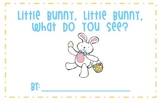 Little Bunny, Little Bunny, What Do You See?  Emergent Reader