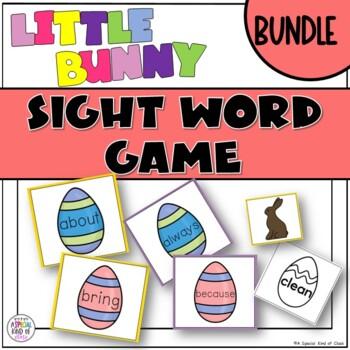 Little Bunny Sight Word Games - BUNLE