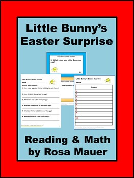 Little Bunny's Easter Surprise Reading and Math