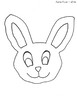 Little Carrots Easter Bunny Craft