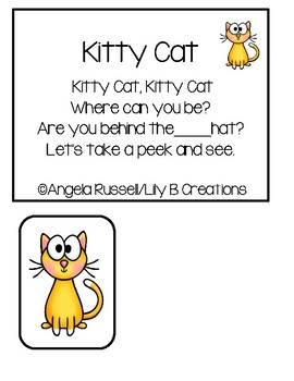 Kitty Cat - Hide And Seek Game