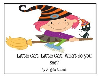 Little Cat, Little Cat, What Do You See? ~ A Halloween Book