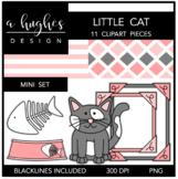 Little Cat Mini Clipart Bundle {A Hughes Design}