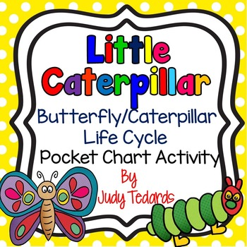 Little Caterpillar (A Butterfly/Caterpillar Life Cycle Poc