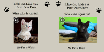 Little Cats - Interactive Book for Toddlers