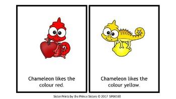 Little Chameleon Likes to Change Colours