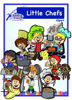 Little Chefs Clipart