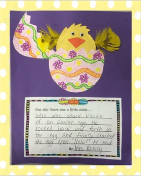 Little Chick Easter Craft